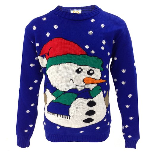 Julesweater til børn snemand