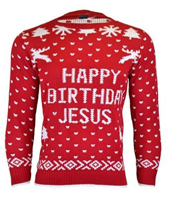 Happy Birthday Jesus - Julesweater