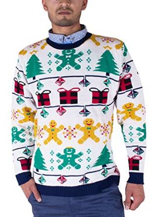 70'er Gingerbreadman - Julesweater