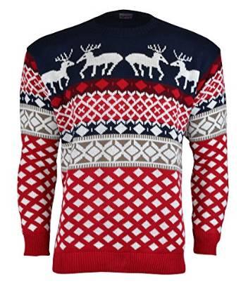 70'er julesweater med rensdyr