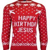 Happy Birthday Jesus - Julesweater