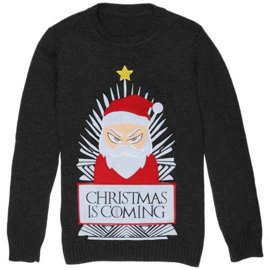Game of Thrones inspireret julesweater